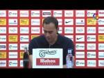 Rueda de prensa de  Fran Fernández tras el Real Sporting vs AD Alcorcón (1-3)