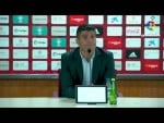 Rueda de prensa de  Pedro Emanuel tras el UD Almería vs CD Lugo (0-0)