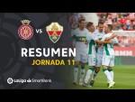 Resumen de Girona FC vs Elche CF (0-2)