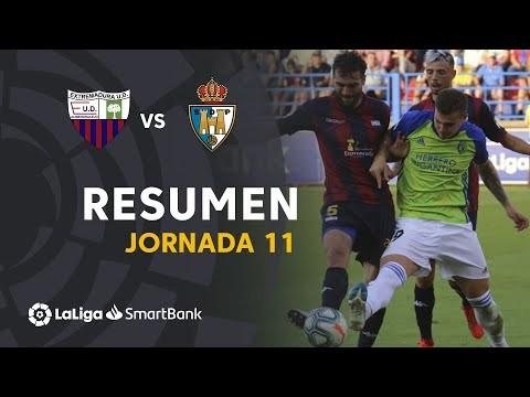 Resumen de Extremadura UD vs SD Ponferradina (1-1)
