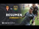 Resumen de Real Sporting vs AD Alcorcón (1-3)