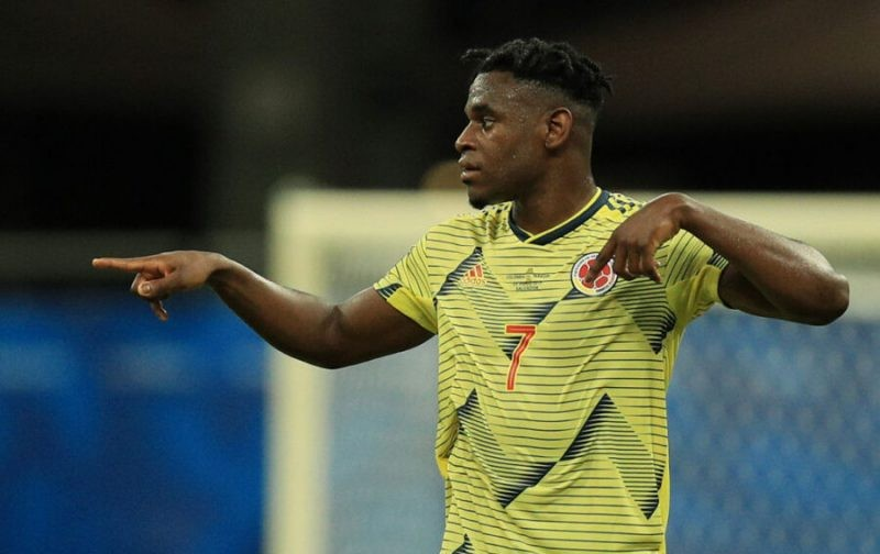 Atalanta's Zapata leaves Colombia camp early with injury