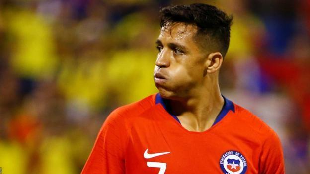 Alexis Sanchez: Inter Milan's on-loan Man Utd forward injured on Chile duty