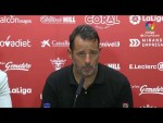 Rueda de prensa de  Baldomero Hermoso tras el CD Mirandés vs CF Fuenlabrada (2-1)