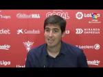 Rueda de prensa de  Andoni Iraola tras el CD Mirandés vs CF Fuenlabrada (2-1)