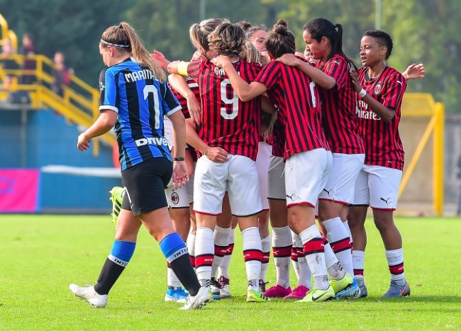 AC Milan down Inter in Serie A Femminile's first ever Derby della Madonnina