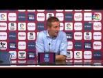 Rueda de prensa de Luis Miguel Ramis tras el Albacete BP vs Real Oviedo (1-2)