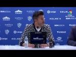 Rueda de prensa de Iván Ania tras el SD Huesca vs Real Racing Club (1-1)