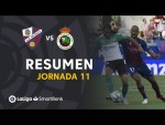 Resumen de SD Huesca vs Real Racing Club (1-1)