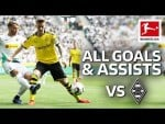 Marco Reus - All Goals & Assists vs. Borussia Mönchengladbach