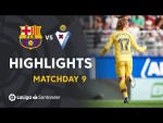Highlights SD Eibar vs FC Barcelona (0-3)