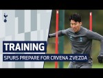 TRAINING | Sonny v Rose v Dier in two touch | Spurs prepare for Crvena Zvezda