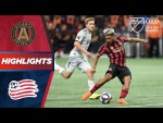 Atlanta United vs. New England Revolution | Stunning Golazo Wins The Game! | PLAYOFF HIGHLIGHTS