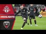 Toronto FC vs. D.C. United | Wayne Rooney's Dramatic Last MLS Game | PLAYOFF HIGHLIGHTS