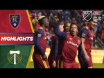 Real Salt Lake vs. Portland Timbers | Dramatic Late Winner! | PLAYOFF HIGHLIGHTS