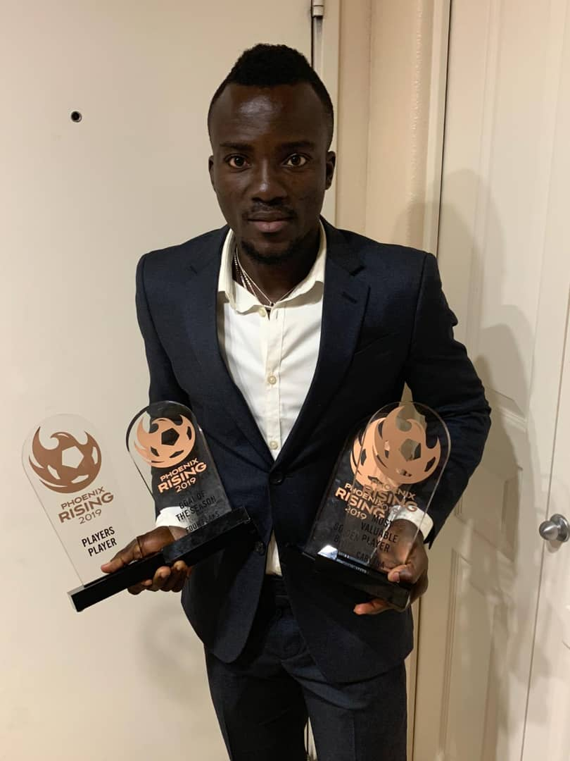 'Magnificent' Solomon Asante sweeps FOUR awards at Phoenix Rising