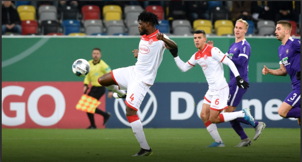 Düsseldorf coach promises Kasim Nuhu and Bernard Tekpetey more game time in second half of season