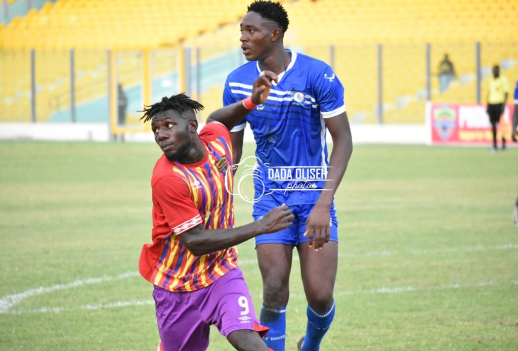 Friendly: Hearts of Oak  held in Accra by Wa All Stars