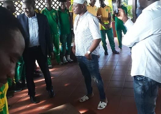 Abedi Pele host Nigerien giants Sahel FC at his resident