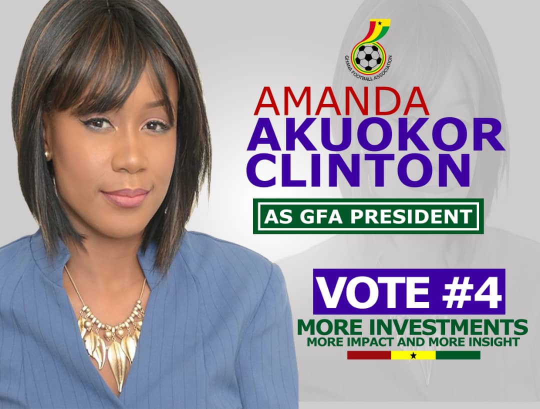 Former Sports Minister Mallam Issa wants Amanda Clinton voted as GFA President