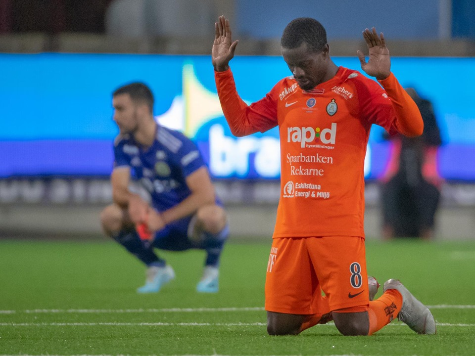 Michael Anaba central to AFCEskilstuna's relegation fight after win over GIF Sundsvall