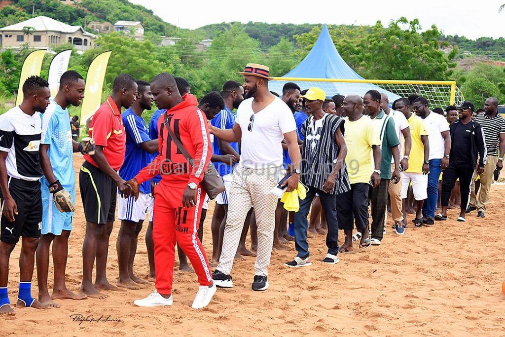 Beach Soccer Ghana: CalBank Super League pulls huge turn out in Western region