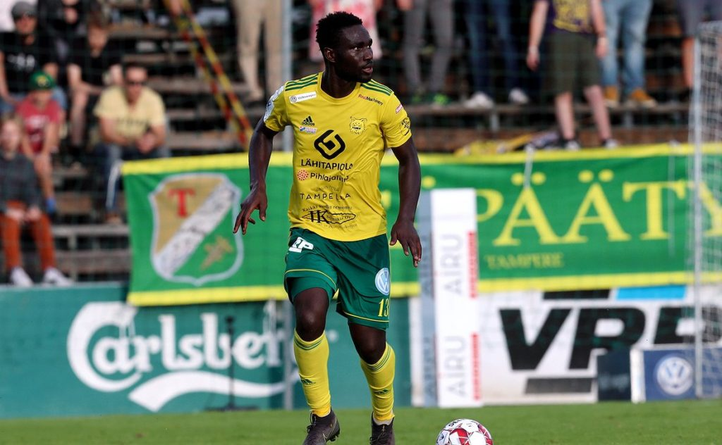Ilves defender Baba Mensah not interested in personal glory
