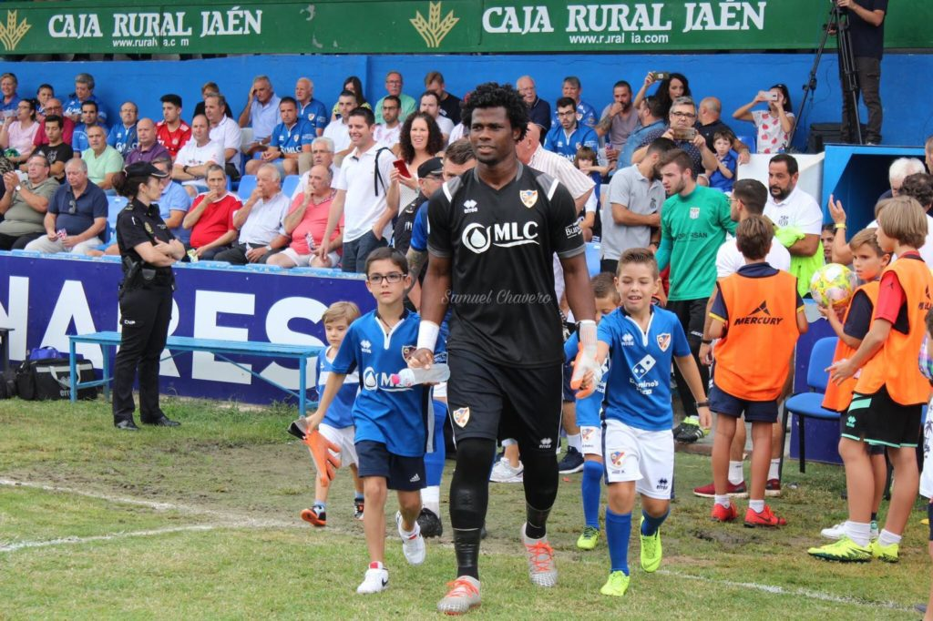 Razak Brimah chalks five clean sheets in 10 matches for leaders Linares Deportivo