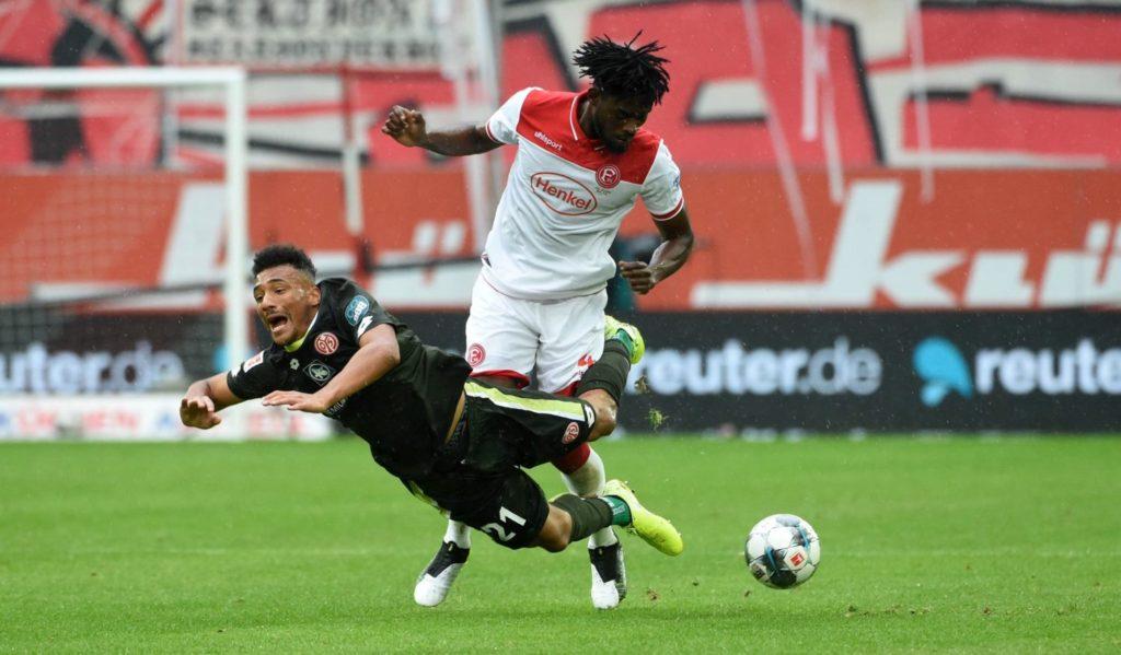 Ghanaian duo Nuhu, Tekpetey feature as Fortuna Düsseldorf record first Bundesliga victory