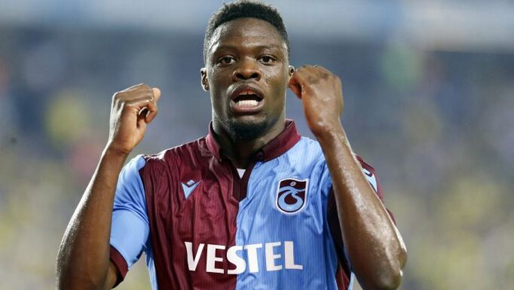 Trabzonspor receive injury boost as Caleb Ekuban nears return