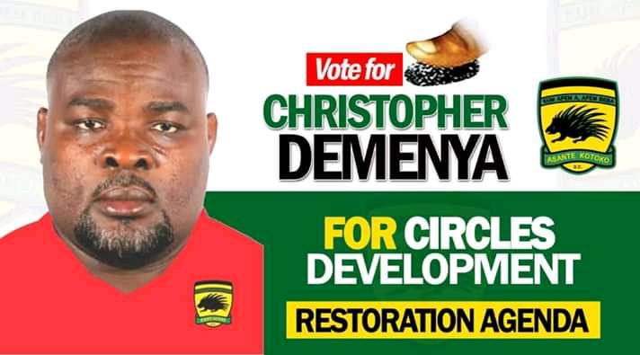 Kotoko NCC Elections: Christopher Damenya chronicles 21 achievable milestone in his manifesto