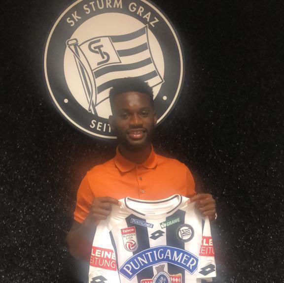 Ghanaian defender Isaac Donkor marks Stum Graz debut in draw against Salzburg