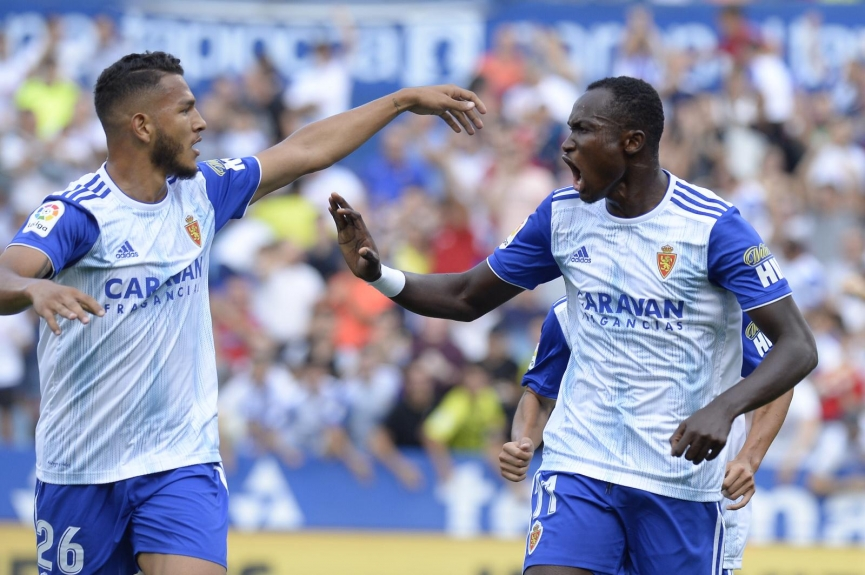 Real Zaragoza midfielderÍñigo Eguaras dedicates Numancia victory to Ghana striker Raphael Dwamena
