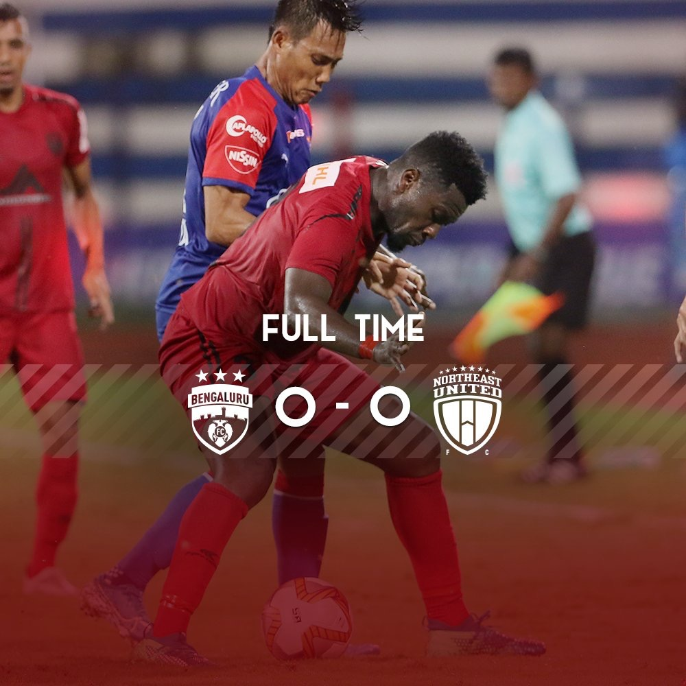 Asamoah Gyan draws blank on ISL debut for North East United against Bengaluru FC