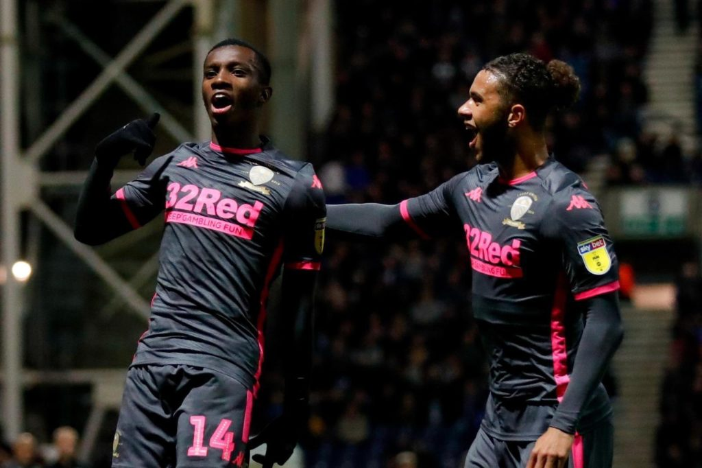 Eddie Nketiah delighted to snatch late point for Leeds against Preston