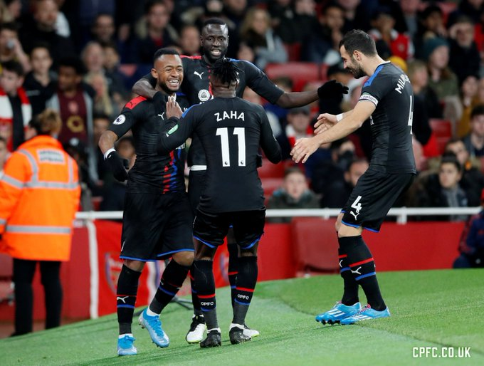VIDEO: Watch Jordan Ayew's equalizing goal for Crystal Palace against Arsenal