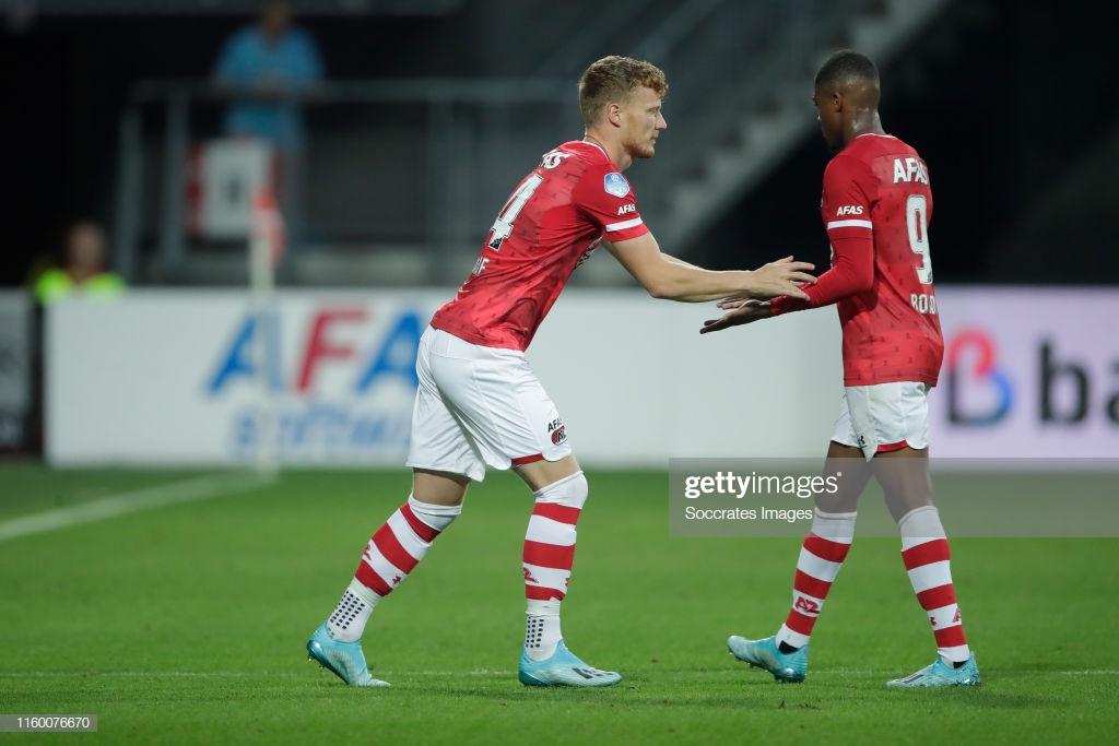 Ferdy Druijf to replace suspended Myron Boadu in AZ\'s clash against Heerenveen