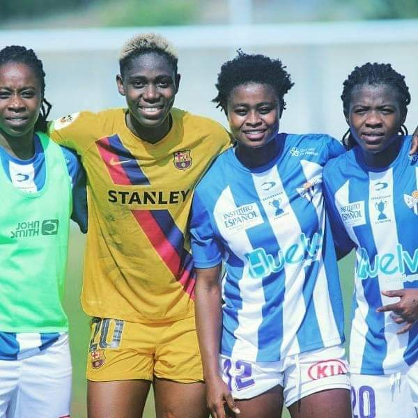 Princella Adubea cameos as Sporting de Huelva suffer narrow defeat to Barcelona