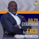 New Bono & Ahafo RFA chairman Ralph Gyambrah eyes Ghana FA Executive Council slot