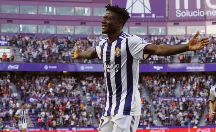 Mohammed Salisu - the wall of the Real Valladolid