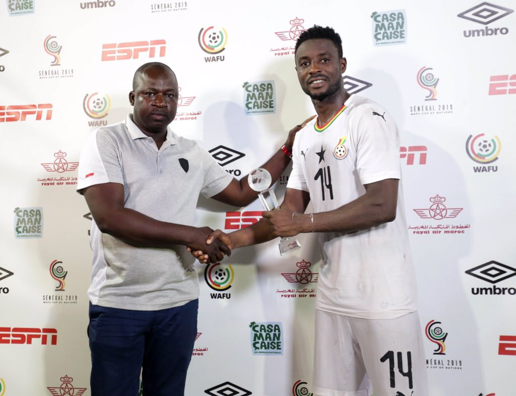 Hat-trick hero Shafiu Mumuni named Man of the Match in Ghana's win over Ivory coast