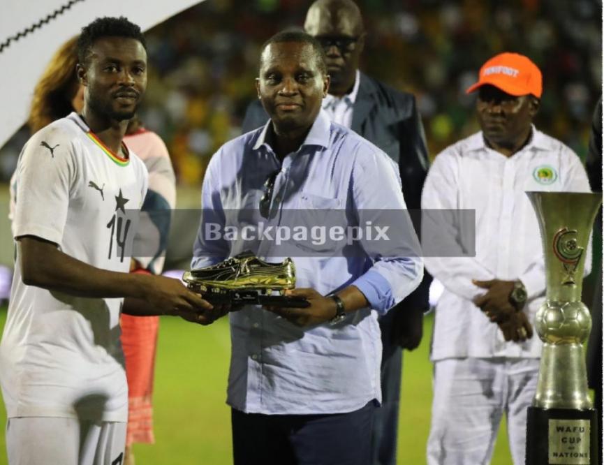 Shafiu Mumuni: AshantiGold striker wins 2019 WAFU Cup of Nations Goal king