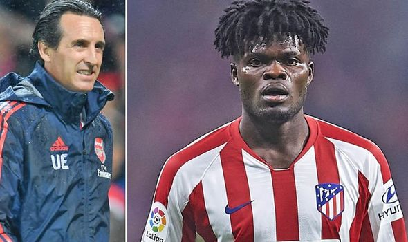 Atletico Madrid set to increase Thomas Partey's release clause to ward off interest from Arsenal