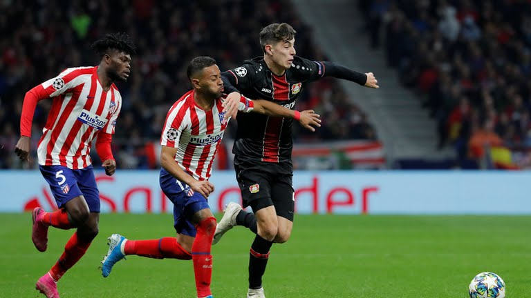 Thomas Partey stars as Atletico pip Bayer Leverkusen in UCL