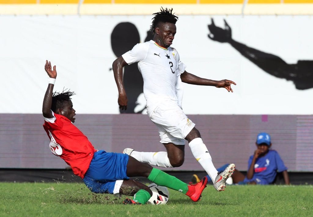 VIDEO: Watch Ghana's 1-0 win over Gambia at 2019 WAFU Cup