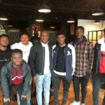 Black Stars coach Kwesi Appiah visits Ghana's top players at Danish side Nordsjaelland