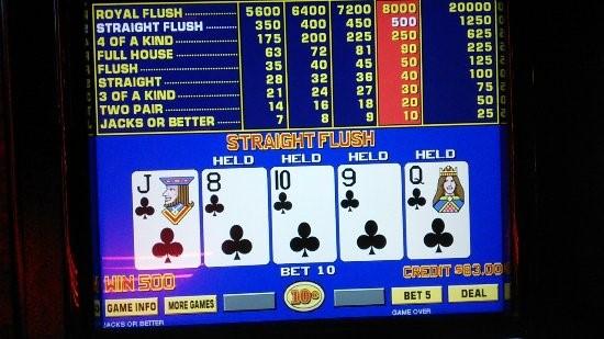 The Facts on Hitting a Royal Flush at Video Poker