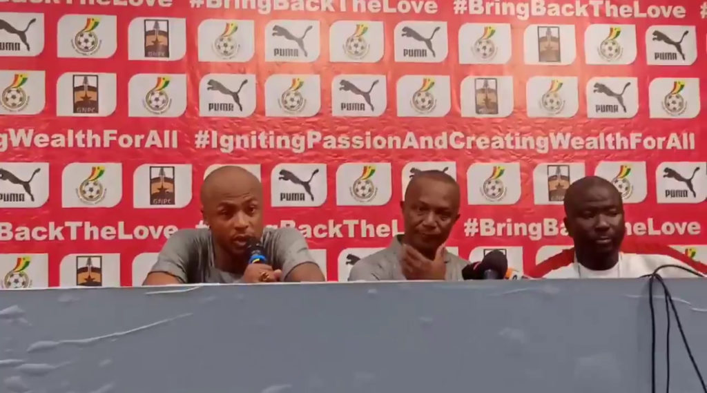 AFCON 2021 Qualifiers: Ghana captain Andre Ayew pleads with Police to release pitch invader