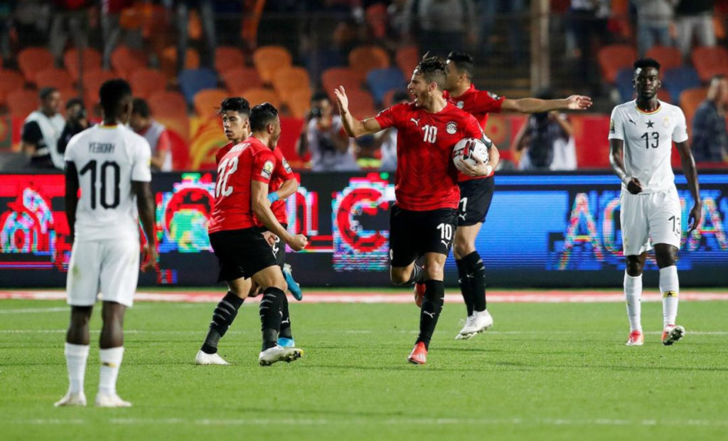 PHOTOS: Egypt rally to defeat Black Meteors in U23 AFCON