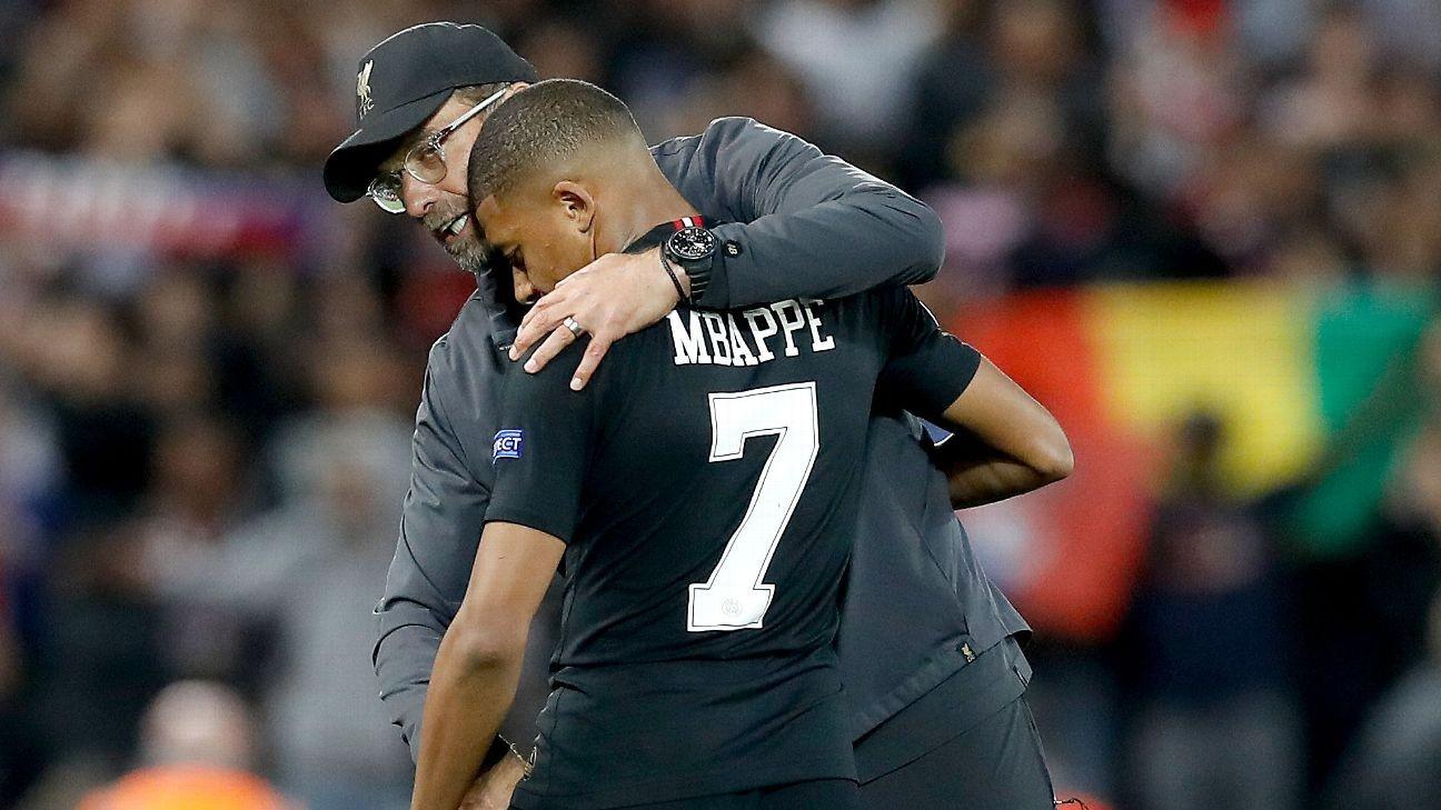 Liverpool's Jurgen Klopp: No club can afford Kylian Mbappe